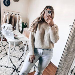 Azalea wang cozy tan sweater
